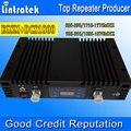 Lintratek 70дб Усиления EGSM Dual Band EGSM Ретранслятор DCS Сотовый Телефон EGSM 900 + DCS Усилитель сигнала 1800 Мобильный Телефон Сигнал Повторителя