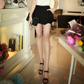 Original 2016 Brand Short Pants Summer Plus Size Elegant Casual Black Shorts Skirts Women Wholesale