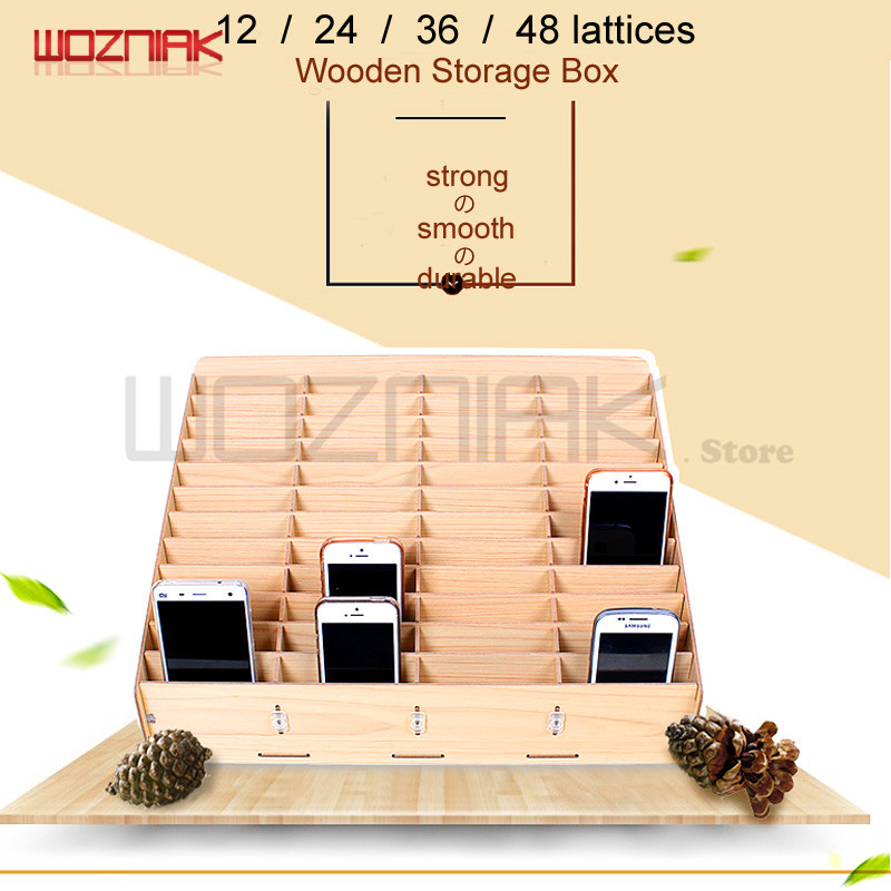 Wozniak Multifunctional Wooden Storage Box Mobile Phone Repair Tool Box Motherboard Accessories Storage Box