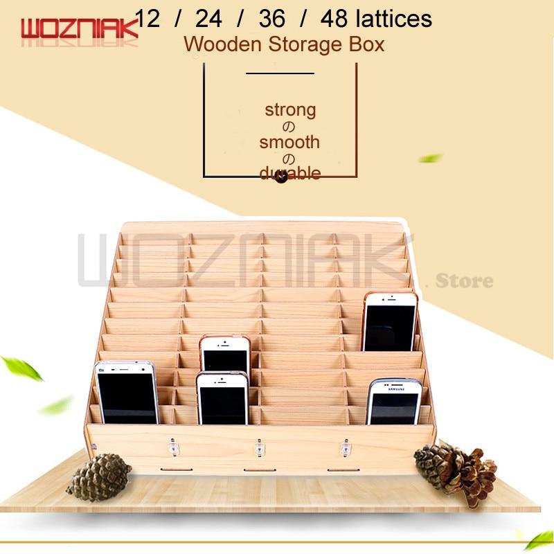 Wozniak Multifunctional Wooden Storage Box Mobile Phone Repair Tool Box Motherboard Accessories Storage Box