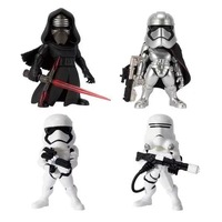 Free Shipping 4pcs Star Wars 7 The Force Awakens Kylo Ren Stormtrooper Boxed PVC Action Figure