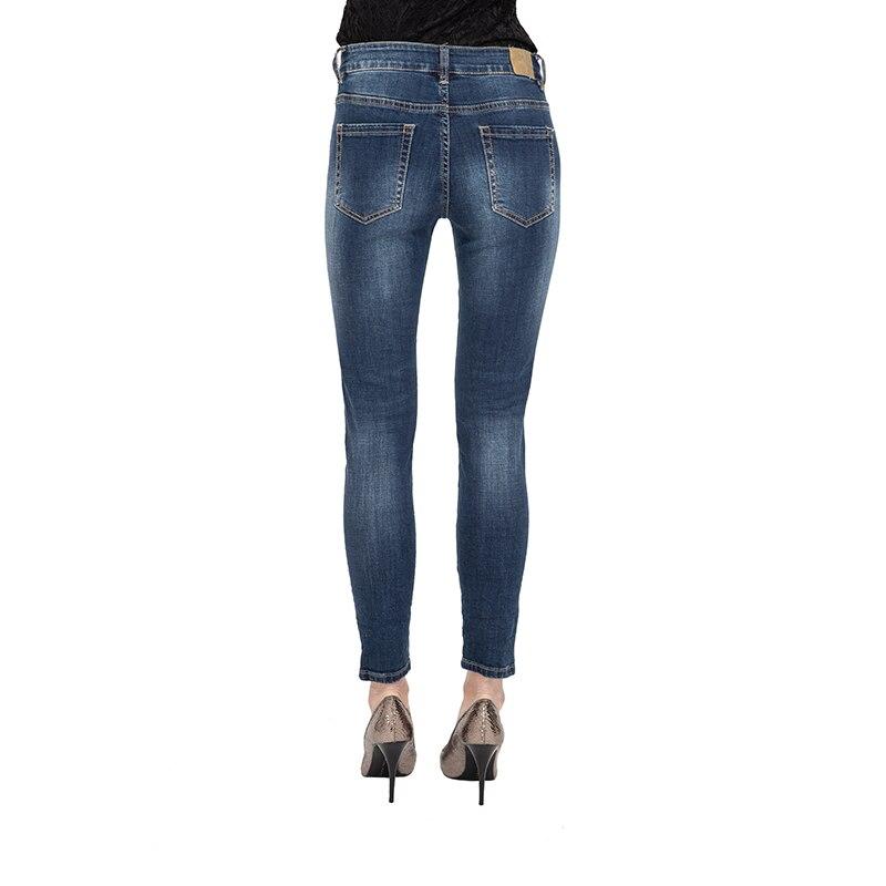My Will Jeansjeans Women High Waist Plus Size Stretch Full Figure Skinny Slim Denim Pants For Women Made In China 818