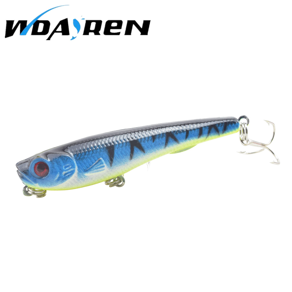1PCS Fishing Lure Deep Swimming Crankbait 8cm 12g Hard Bait 7 Color Available Tight Wobble Slow Floating Fishing Tackle FA-328