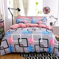 UNIHOME תערובת כותנה בסטי כיסוי שמיכה, עיצוב דפוס פרחוני בציר (cyg)