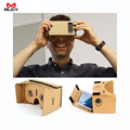 "MIJOY DIY Magnet Google Cardboard Virtual Reality VR Mobile Phone 3D Viewing Glasses For 5.0"" Screen Google VR 3D Glasses"