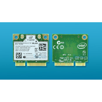 สำหรับ Intel Dual Band Wireless-AC 7260 Intel7260 7260AC 7260HMW WiFi 2.4 & 5G 867M BT4.0 MiniPCIe การ์ดเครือข่ายไร้สาย