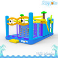 Inflatable Biggors Inflatable Obstacle Course Kids Outdoor Playing Trampoline PVC Bouncers