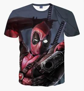 Cartoon printed t-shirts boys big kids teens t shirt tops d05777ab13bf