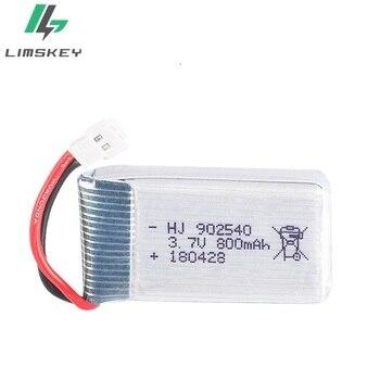 цена на 3.7V 800mAh lipo Battery For Syma X5 X5C X5S X5SC X5HW X5HC X5SW M68 X300 X400 X500 X800 HJ819 3.7 V 800 mAh 902540 25C battery