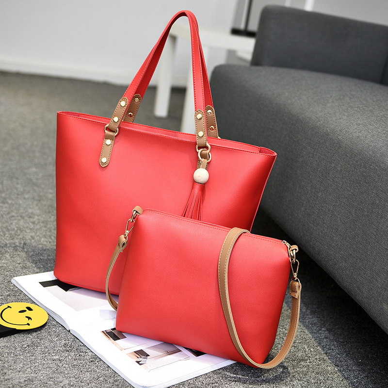 Bag Woman 2017 New Pattern Package In Child And Package Fashion Single Shoulder Portable Woman OL Commute Atmosphere Ma'am Bag