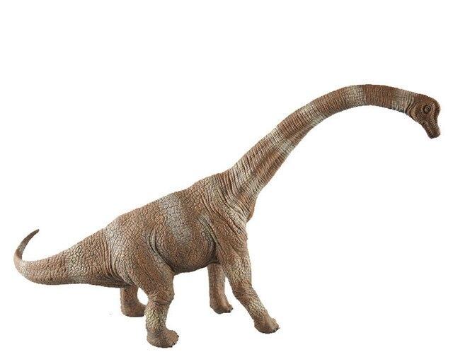 31 CM Brachiosaurus Dinossauro T-REX Dinossauros Figuras de Ação Brinquedo Garoto Brinquedo De Simulação de Alta Presente de Aniversário para Crianças