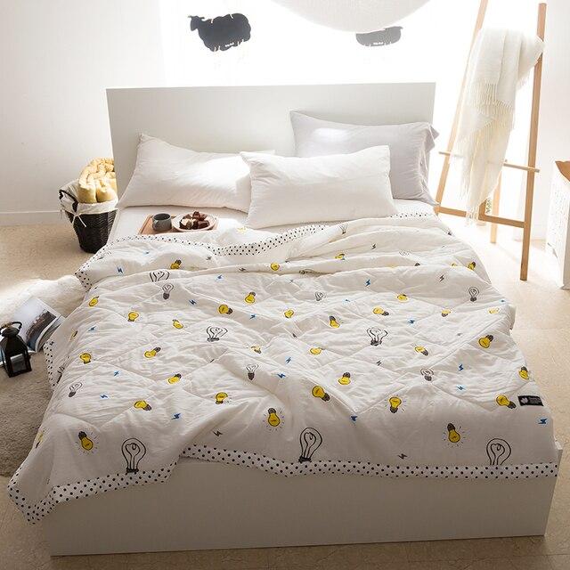 Papa&Mima light bulb Quilting Summer Quilt Twin Queen Size Throws ... : light summer quilt - Adamdwight.com