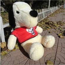 Plush dog toys lovely dog cute stuff doll birthday gift about 65cm red