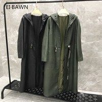 2019 New Arrival Real Leather Jacket Drawstring Genuine Leather Jacket Women Plus Size Hooded Lambskin Leather Coat for Women
