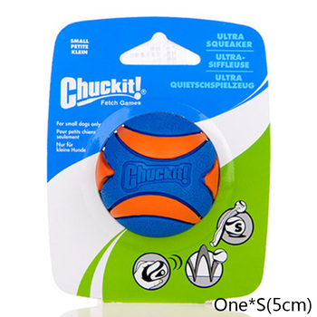 HOOPET Pet Dog Puppy Squeaky Chew Toy Sound Pure Natural Non-toxic Rubber Outdoor Play Small Big Dog Funny Ball 15