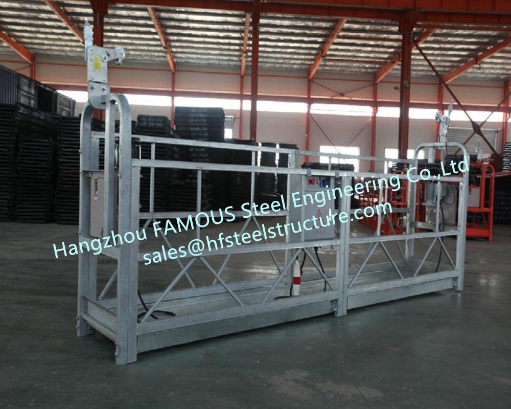 Aluminum Alloy Electric Hoist Aerial Working Gondolar Platform Portable Swing Stage Moving Platform