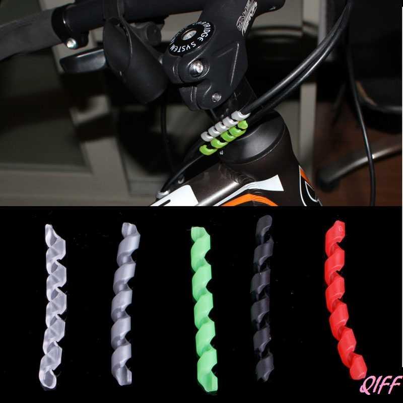 ドロップシッピング 1 個サイクリング自転車ブレーキケーブルハウジングプロテクター抗摩擦自転車ラップ APR28