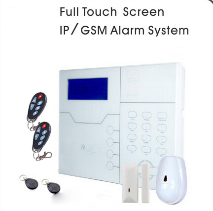 868MHz TCP/IP Network + GSM Home Alarme System ST-VGT with Pet/Dog/Cat Friendly, DHL Shipping 868mhz focus st vgt tcp ip ethernet gsm gprs alarm system with touch keypad and pet friendly pir sensor web ie programmable
