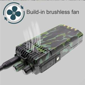 Image 4 - LEIXEN Note haute puissance 20W UHF 400 480MHz FM Radio bidirectionnelle longue Distance talkie walkie noir émetteur récepteur Interphone