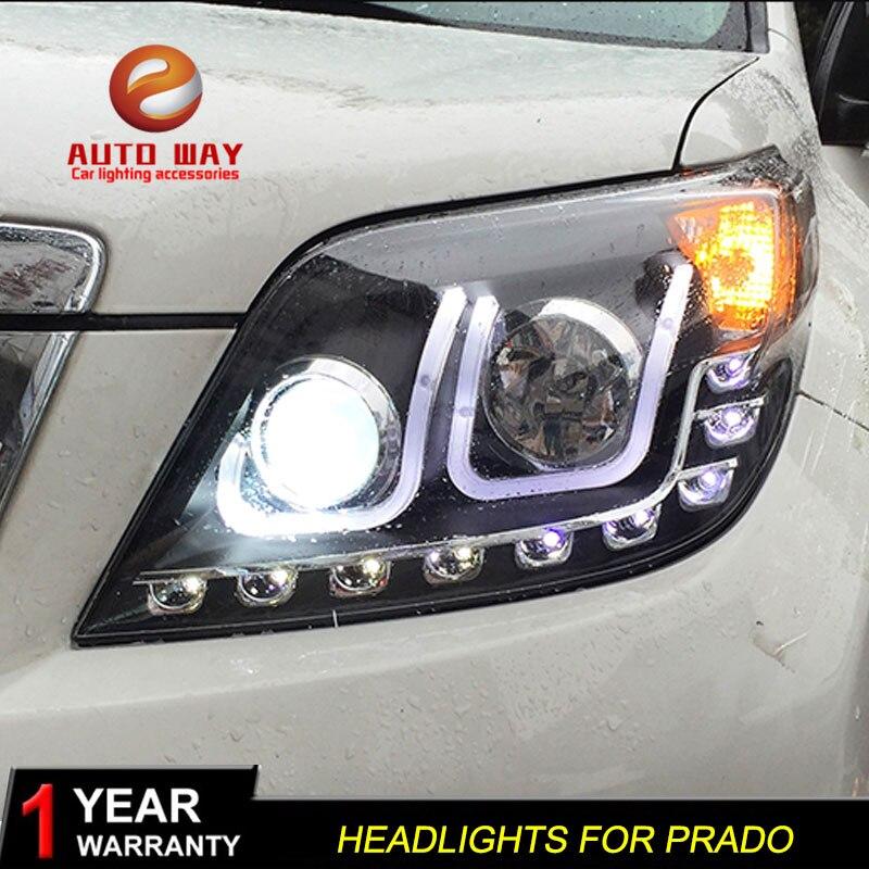 """Automobilio stiliaus """"Toyota Prado"""" priekinių žibintų dangtis, - Automobilių žibintai - Nuotrauka 3"""
