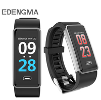 EDENGMA smart Bracelet G23 blood pressure oxygen tester bluetooth Music Photo fashionable healthy sport Wristband PK mi band 3