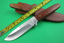 WS African Small Hunting knife Fixed Blade Knife for Survival Knife7CR17 MOV Steel Useful Tools for Hunting and Camping Activity