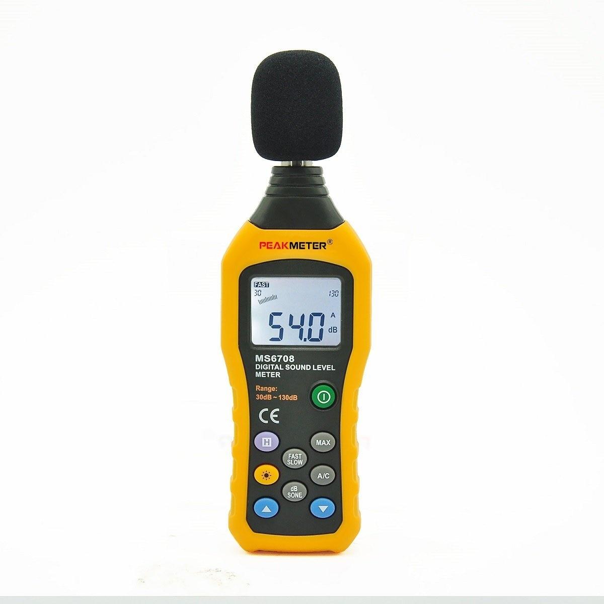 HHTL-PEAKMETER MS6708 sonomètre numérique décibel