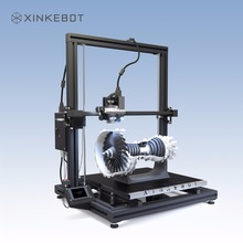Large 3D Printer Dual Extruder 0.05 Resolution Xinkebot Orca2 Cygnus DIY 3D Printer 400x400x500mm