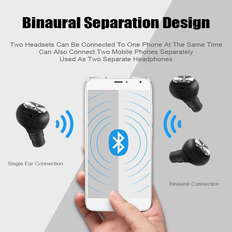M&J Capsule Wireless TWS Earbuds Bluetooth Earphone With Mic And Deep Bass 5