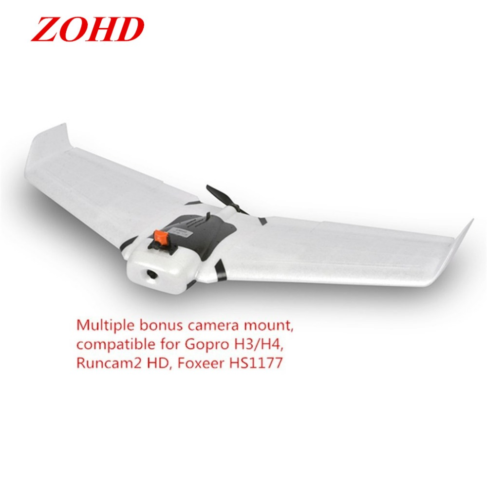ZOHD Orbit 900mm Detachable EPP AIO HD FPV Flying Wing Airplane With Gyro with 1080p/30fps HD Camera KIT PNP FPV Version fpv x uav talon uav 1720mm fpv plane gray white version flying glider epo modle rc model airplane
