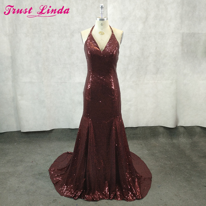 Sparkly Sequined   Bridesmaid     Dresses   Ever Pretty Spaghetti Wedding Party Pregnant   Dress   Cheap   Bridesmaid   Gowns Custom Made 2018