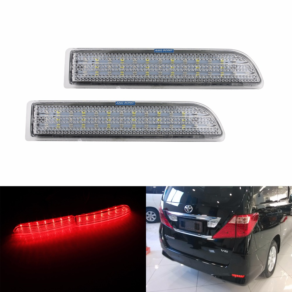 8 pieces Reverse Vanity LED for Toyota Camry Xenon White License Plate