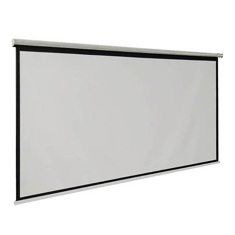 Thinyou 100 inčni 16: 9 bela tkanina prenosni talni zaslon talni - Domači avdio in video - Fotografija 3