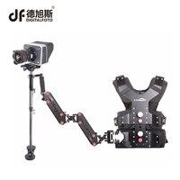 DIGITALFOTO M30S Profesjonalne Światła Włókna Węglowego DSLR Camera Stabilizator Steadicam Steadycam Wideo z Kamizelką Sanki arm film-making