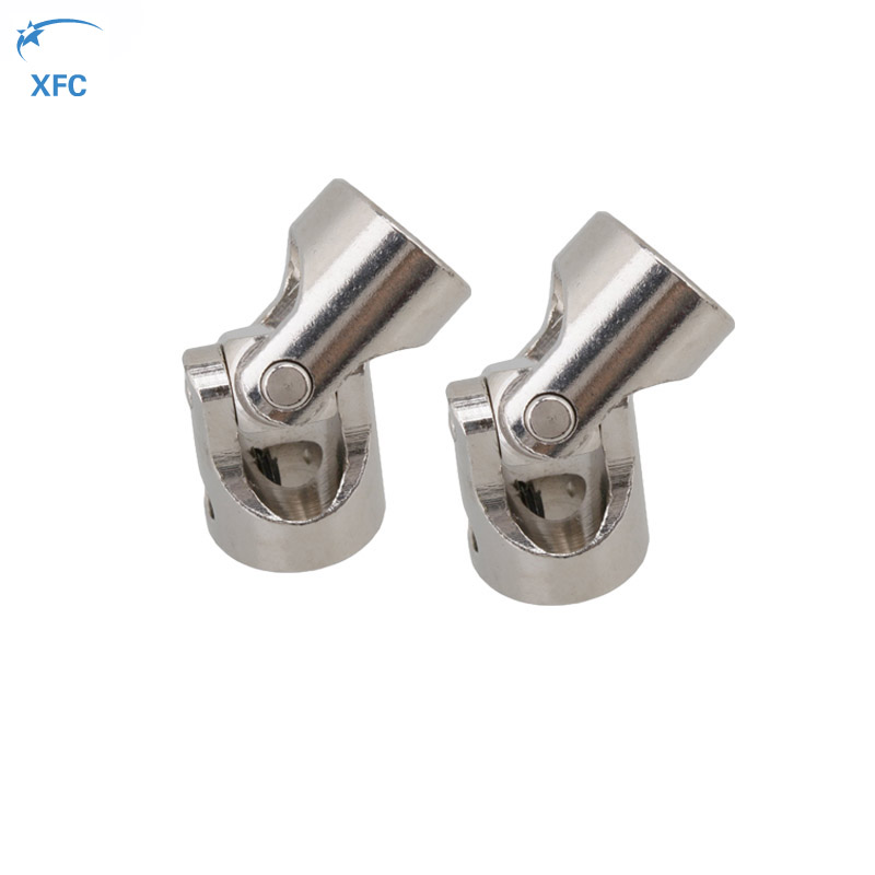 1pair Stainless Steel Universal Joint Shaft Motor Coupling 4MM to 3MM for RC Model Boat Part 15mmx15mm od24mm l88mm double universal joints coupling stainless steel connector crossing shaft coupler rc car boat model parts