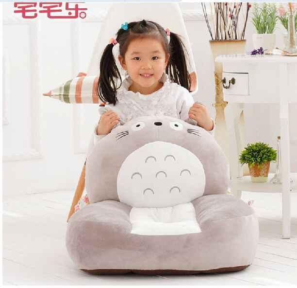 جديد رمادي لعبة الإبداعية توتورو تصميم محشوة أفخم totoro أريكة أريكة دمية هدية حوالي 54x45 سنتيمتر 0356