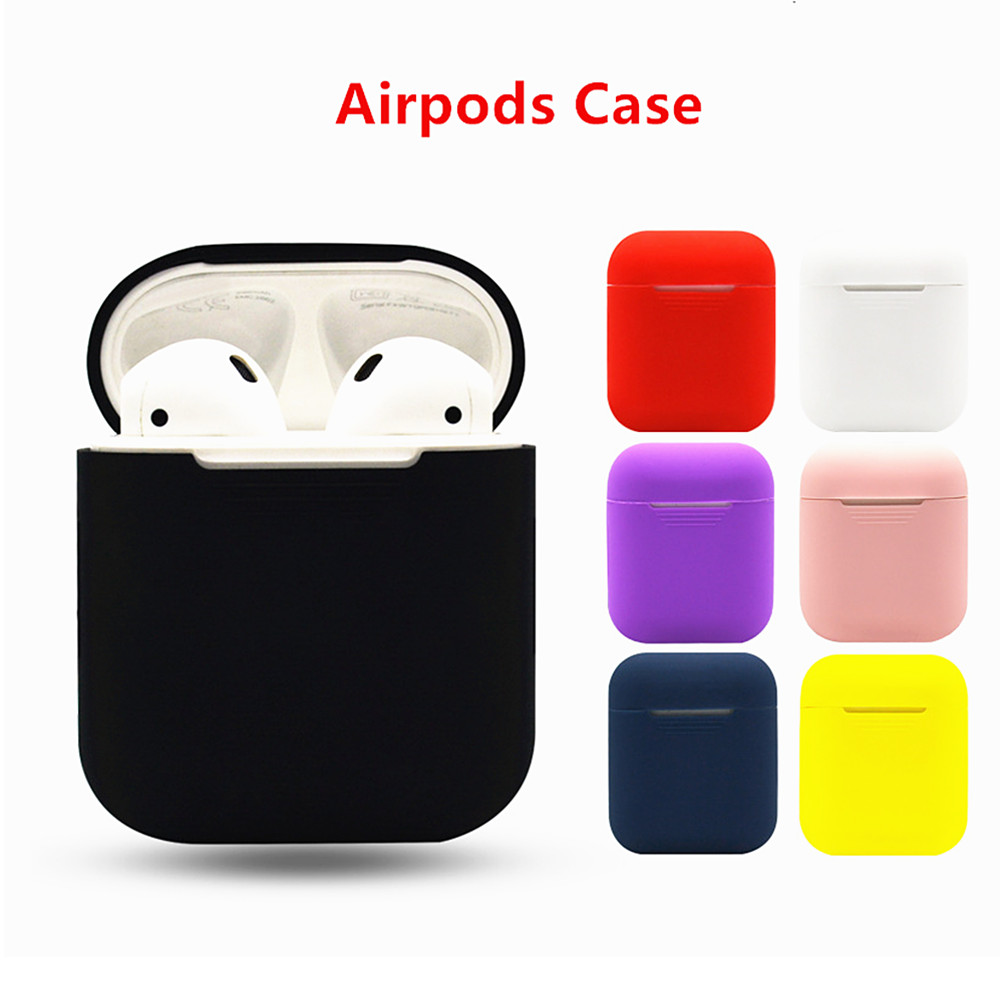 Silicone box For Apple watch Airpods Case Cover Protective