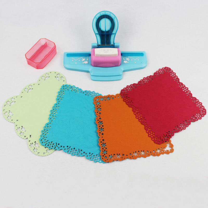 Image 2 - Large Fancy border embossing punch scrapbooking handmade edge device DIY paper cutter Craft gift perforadora de papel YH30-in Hole Punch from Office & School Supplies