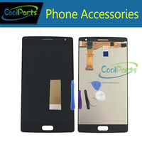 Black Color High Quality For One Plus Two LCD Display And Touch Screen Digitizer Assemble Replacement