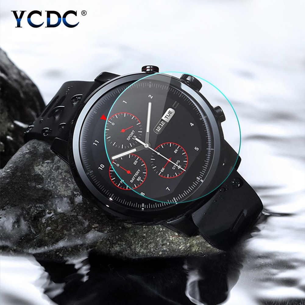 23-46mm מזג זכוכית אנטי לדפוק HD קדמי מגן חכם שעון עבור Ticwatch 2/s /e/פרו