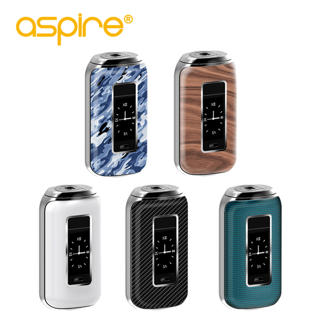 US $72 5 |Original Electronic Cigarette Aspire SkyStar 210W without Dual  18650 Battery 510 High Power Vape Mod Fit With Aspire Revvo Tank-in