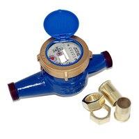 Mayitr Water Meter DN20 3/4 Household Garden Home Tap Water Meter Cold Water Meter for Currently Calibrate