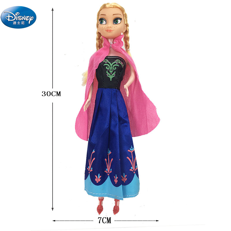 30 CM Disney Frozen Elsa Anna Action Princess doll girl Toy Figures