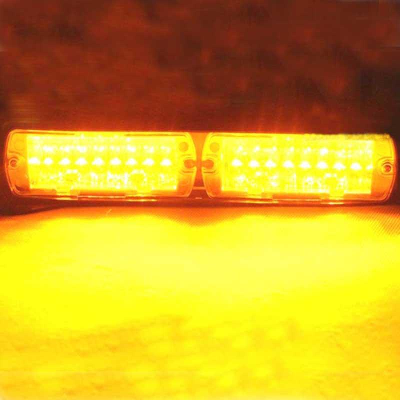 16LED Emergency Vehicle Warning Strobe Flash Police Light Led Dash Car Daytime Driving Lamp Red &Blue Amber White,Free Shipping
