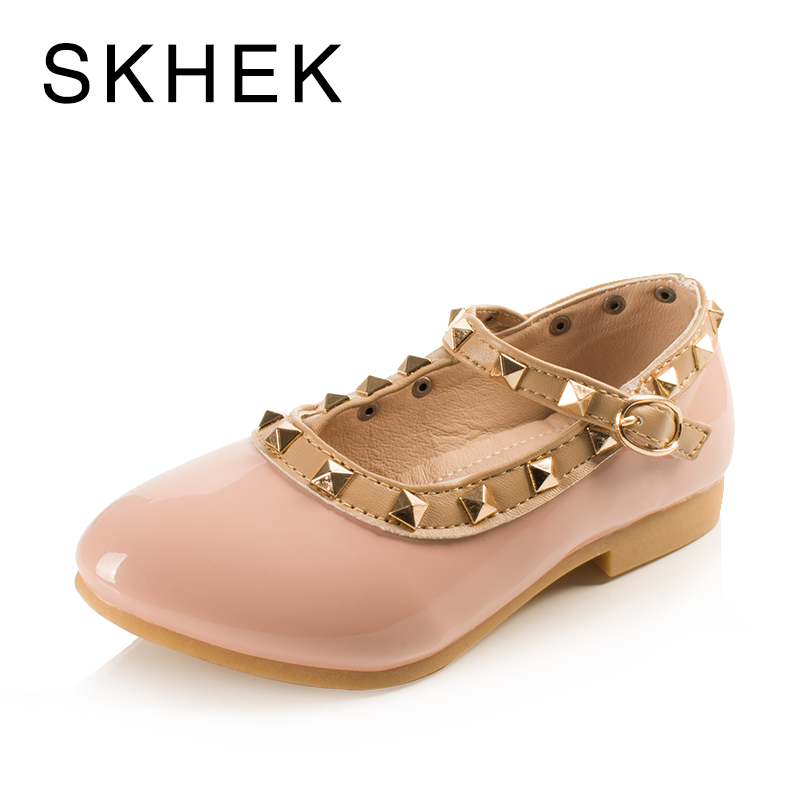 SKEHK Brand Children Rivets Shoes Girls Leisure Sports Shoes Girls Shoes 2017PU Material New Rubber Sole Four Color Size 5.5-4.5SKEHK Brand Children Rivets Shoes Girls Leisure Sports Shoes Girls Shoes 2017PU Material New Rubber Sole Four Color Size 5.5-4.5