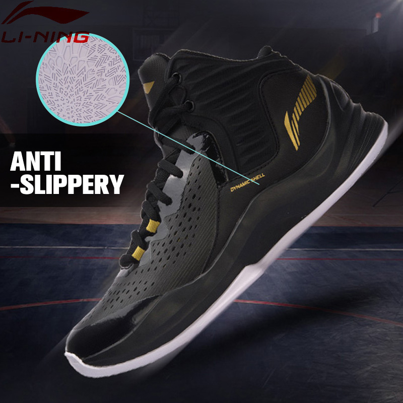 Li-Ning Men SPEED On Court Basketball Shoes Cushion LiNing Sports Shoes Breathable Sneakers ABPM031 XYL121 li ning men s fission iii wade professional basketball shoes lining cloud sneakers breathable sports shoes abam025 xyl109
