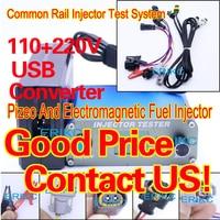 ERIKC Kw608 CRI100 fuel diesel piezo injector test Usb Electromagnetic Piezo Injector Tester piezo common rail injector tester