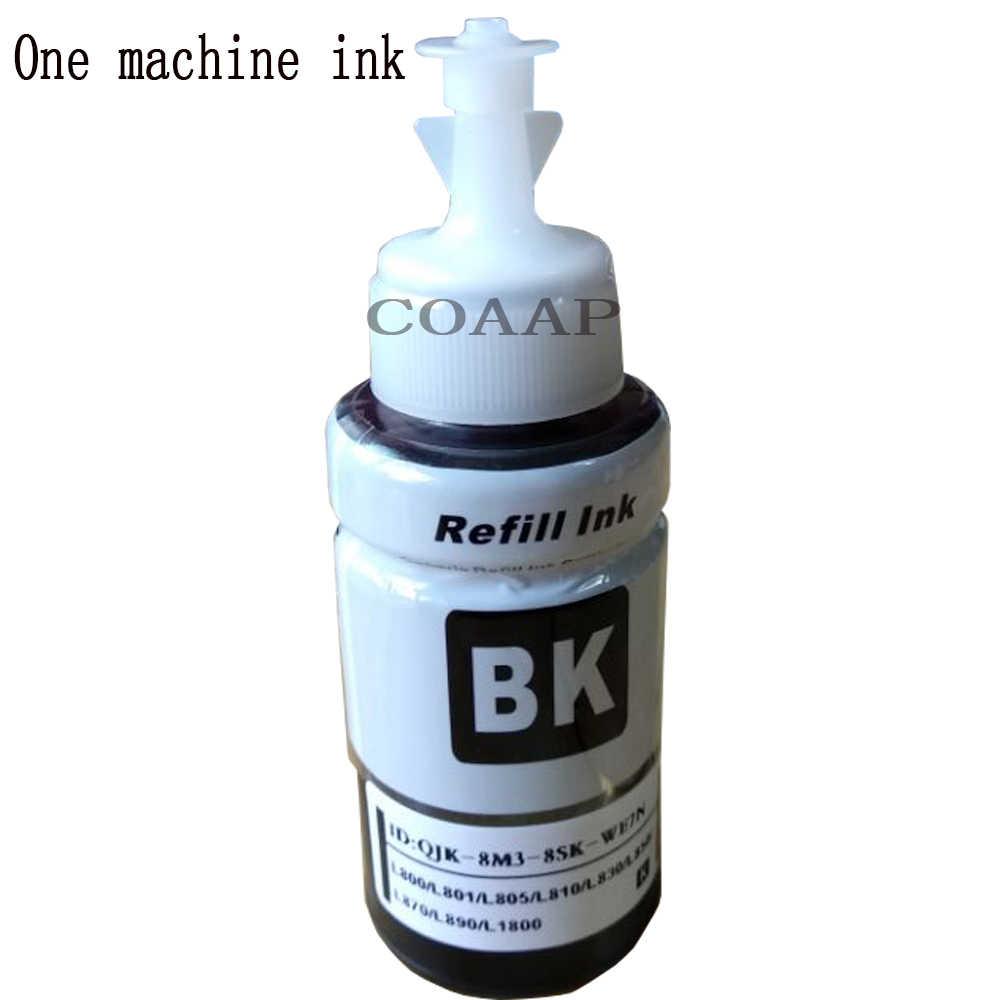 Kompatibel Tinta Kit Untuk Epson T6641 T6674 L555 L565 L566 L575 L605 L655 L800 L801 L810 L830 L850 L1800 Series printer