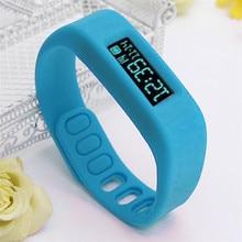 Высокое качество Bluetooth 4.0 Смарт наручные часы браслет здоровья спорт и сна отслеживание Фитнес Бесплатная доставка H3T5