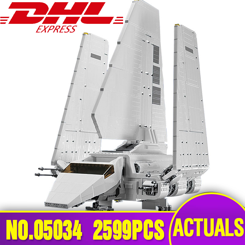 lepin Star 05034 Series Wars The Imperial Shuttle Building Blocks Bricks Assembled DIY Toys legoing 10212 as children Gifts in stock lepin 05034 2503pcs star imperial shuttle wars model building kit blocks bricks compatible children toy gift with 10212